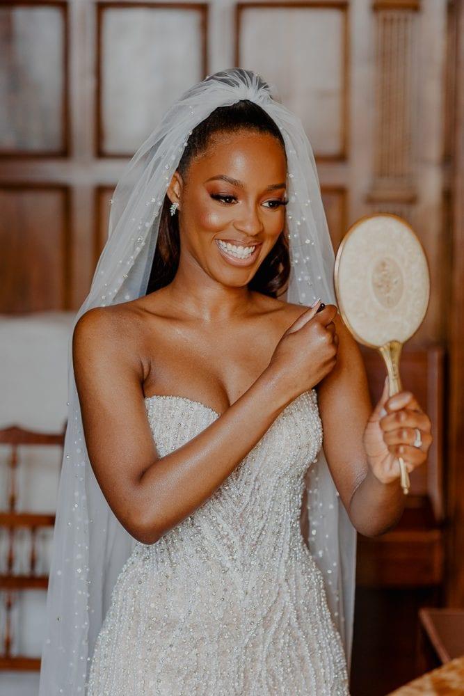 Bride Prep at Ashridge House